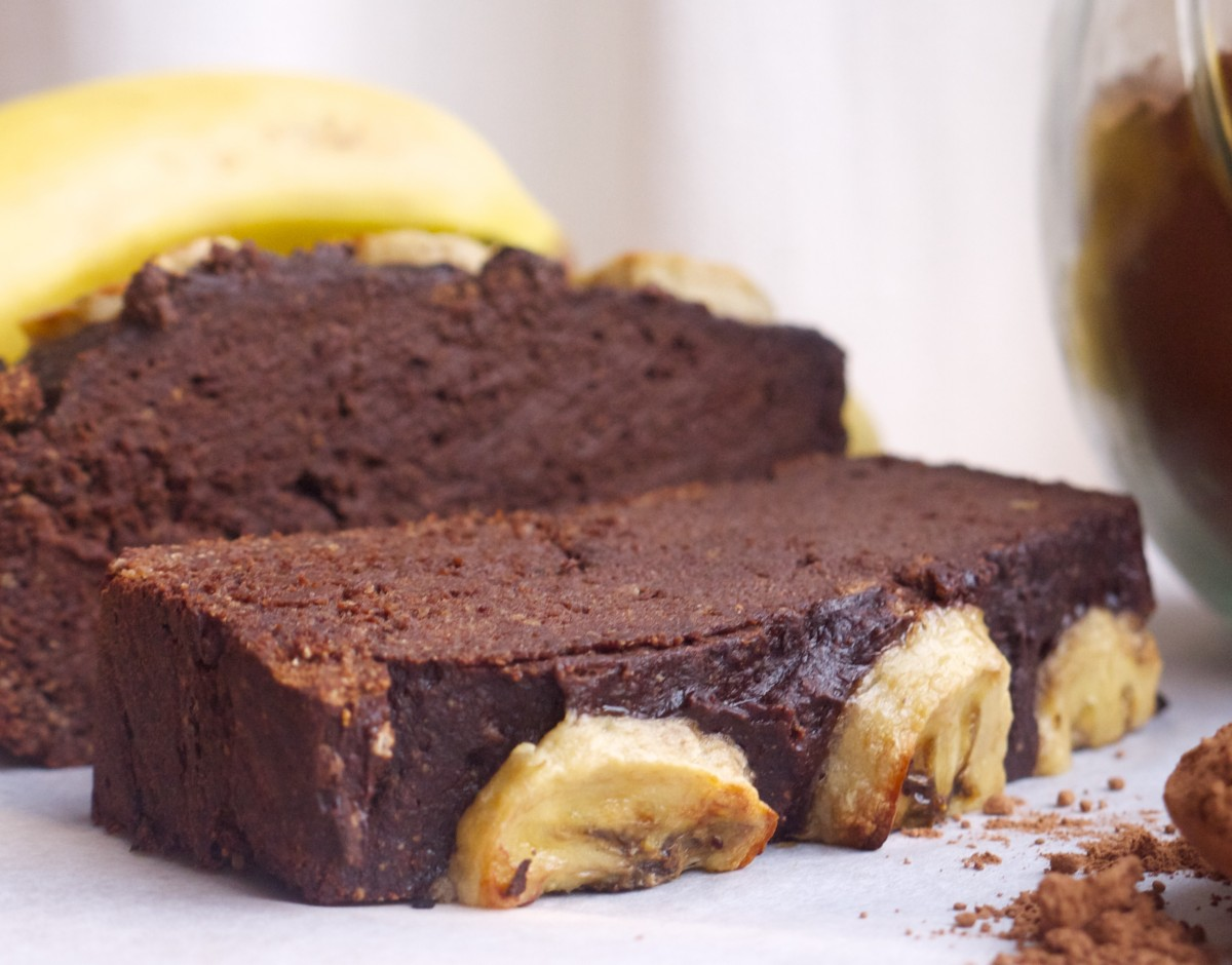 Simple Chocolate Banana Cake