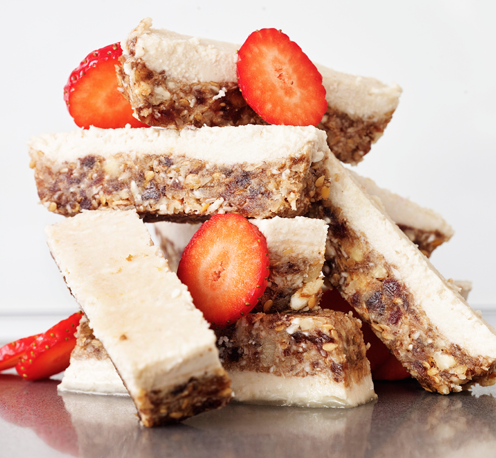 EYB Strawberry Coconut Slices